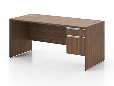 Rent the NEX Junior Executive Desk - Right Pedestal