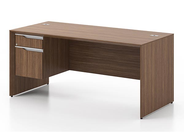 Rent the NEX Junior Executive Desk - Left Pedestal
