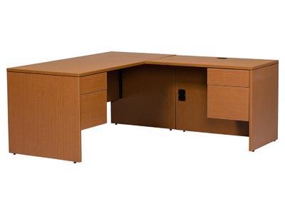Halton Series Junior Left Pedestal Desk