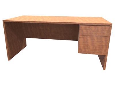 Halton Junior Right Pedestal Desk