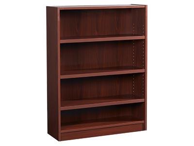 """70's Series 48"""" Mahogany Bookcase"""