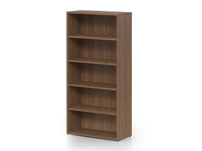 Rent the NEX Tall Bookcase - Natural Walnut