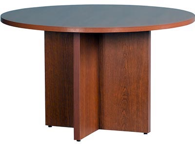 """10600 Natural Cherry 48"""" Round Conference Table"""