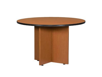 "Rent the Halton 48"" Round Conference Table"