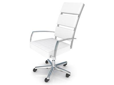 Executive White Chair