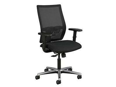 Rent the Affinity Work Chair with arms