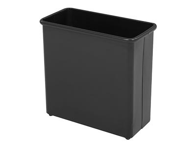 Rent the Rectangle Metal Waste Basket