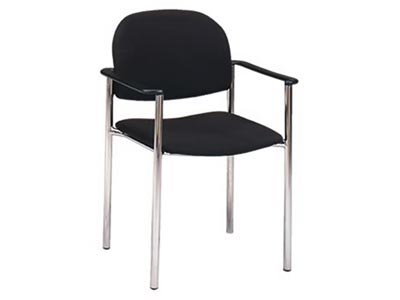 Syntax Stack Chair with Arms