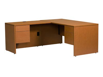 Rent the Halton Junior Executive Left Hand L-Shaped Desk
