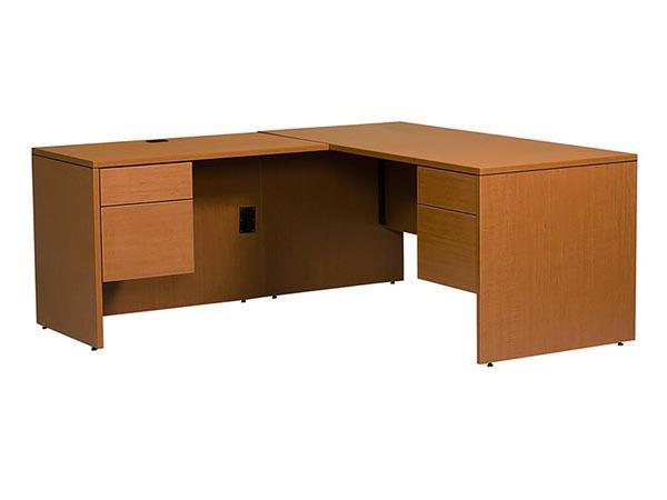Rent the Halton Junior Executive Left Hand L-Shaped Desk