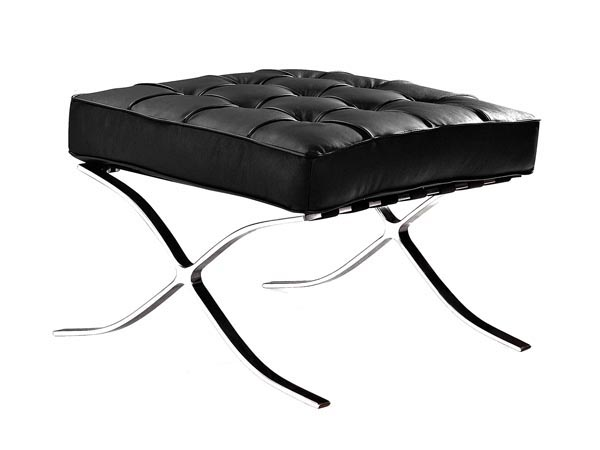 Rent the Marco Ottoman - Black