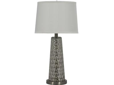 Rent the Silver Dimpled Table Lamp