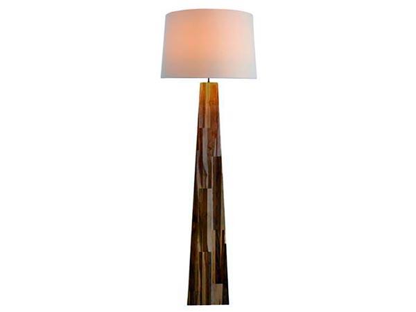 Rent the Line Teak Floor Lamp