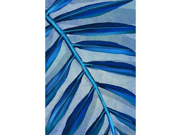 Rent the Abstract Frond II Framed Artwork