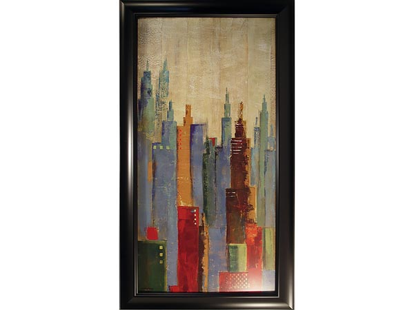 Rent the Towerscape I Framed Artwork