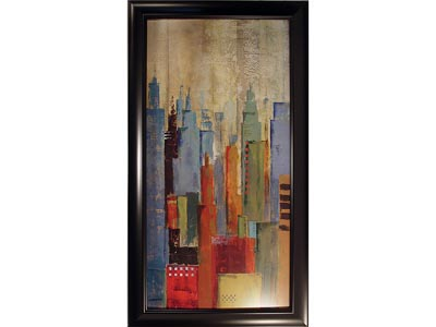 Rent the Towerscape II Framed Artwork