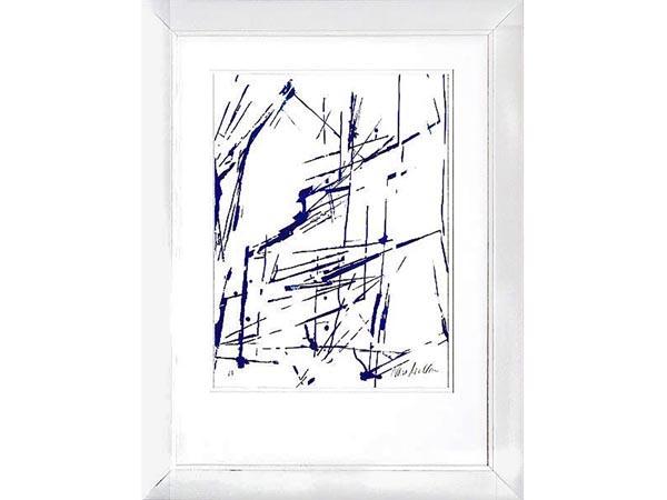 Rent the Blue Ginger Framed Artwork