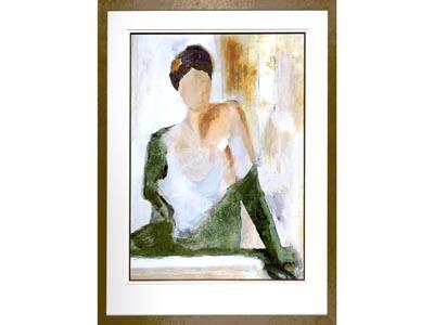 Rent the Dama Framed Artwork