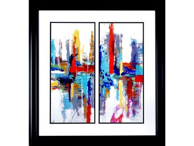 Rent the Crosstown Framed Artwork