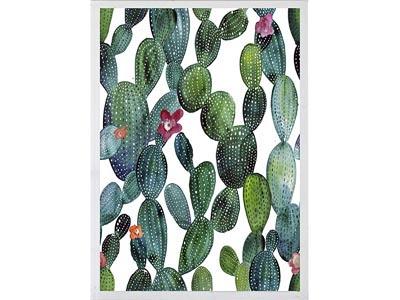 Rent the Cactus II Framed Artwork