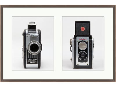 Rent the Vintage Camera Framed Artwork