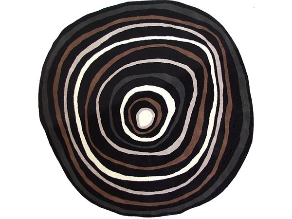 Rent the Chelsea Circles Round Rug