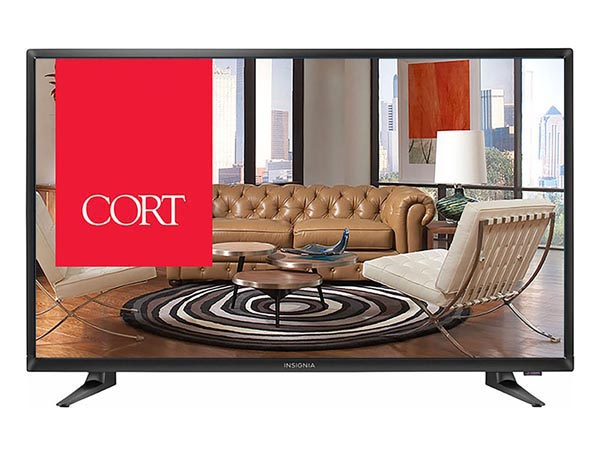 "Rent the 32"" TV"