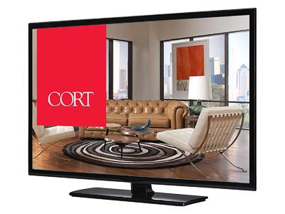 "Rent the 48"" LED TV"