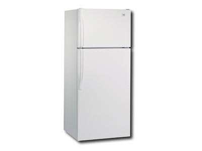Rent the 18 Cu Ft. Top Freezer Refrigerator- White