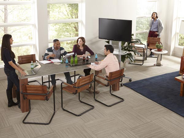 Rent the Thin Rectangle Extension Table