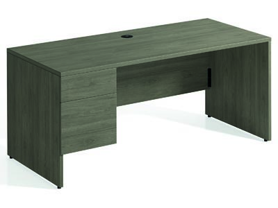 Rent the Totem Left Pedestal Desk