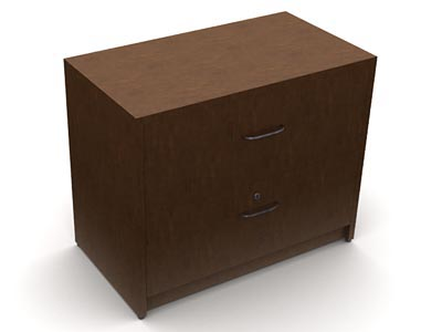 Rent the Shaker Cherry 2 Drawers Lateral File