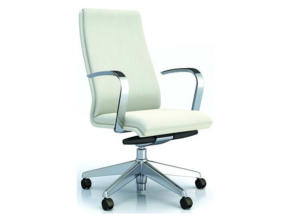 Rent the Atto White Leather Executive Chair