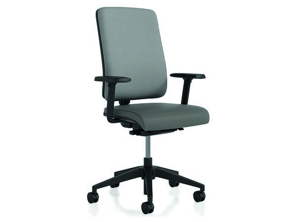 Rent the Radiance Gray Task Chair with Arms