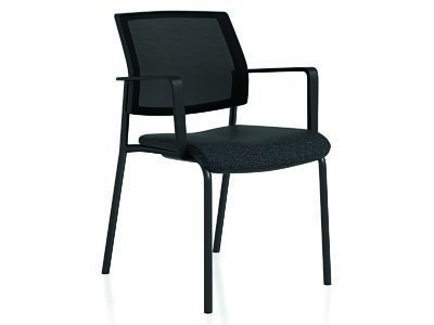 Rent the Shifter Black Guest Chair