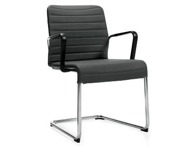 Rent the Lite Black Guest Chair