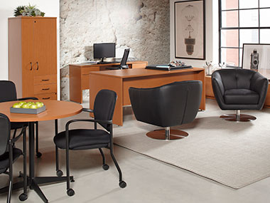 Strange Office Furniture Solutions Rent Office Furniture From Cort Beutiful Home Inspiration Cosmmahrainfo