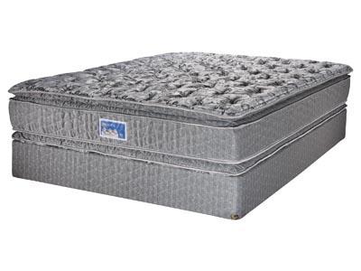 Retreat Valley Pillow Top Mattress & Boxspring Set, Queen