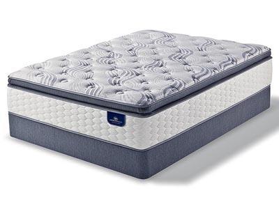 Lacona Super Pillow Top Mattress & Boxspring Set, Twin