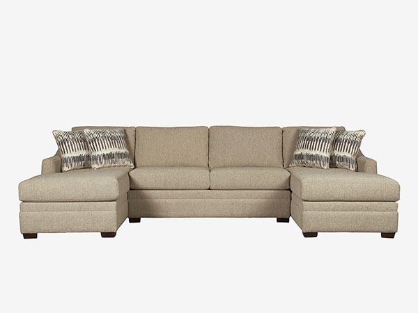 Sensational Rent The Ballard Loveseat Sectional Sofa With Optional Gmtry Best Dining Table And Chair Ideas Images Gmtryco