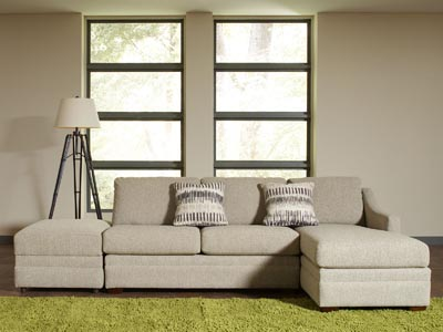 Rent the Ballard Sectional Sofa with Right Arm Facing Chaise