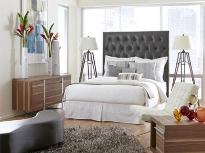 Rent the Blair Queen Headboard