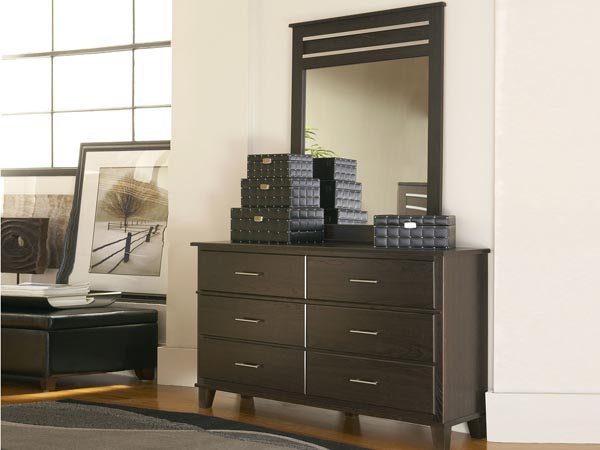 Rent the Dakota Skyline Dresser with Optional Mirror