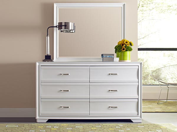 Rent the Bianca Dresser with Optional Mirror