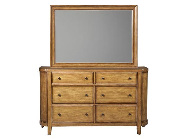 Rent the Kinsley Dresser with Optional Mirror