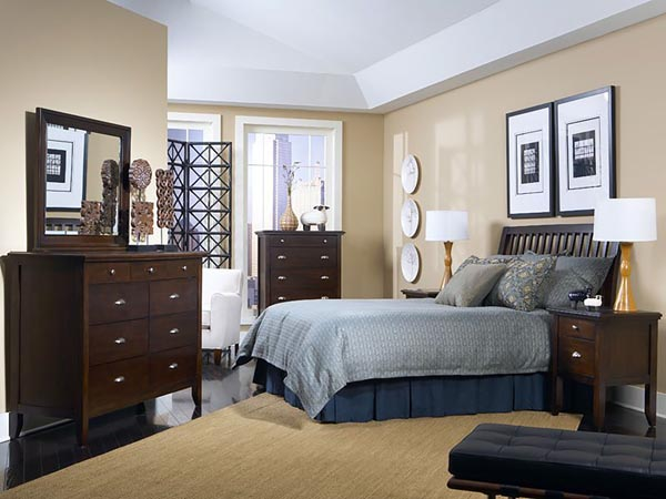 Rent the Colfax Sleigh Bed with Optional Mattress