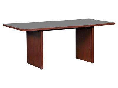 10700 Mahogany 6' Rectangle Conference Table