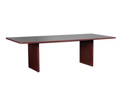 10700 Mahogany 8' Rectangle Conference Table