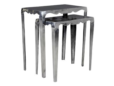 Rent the Scallop Nesting Tables