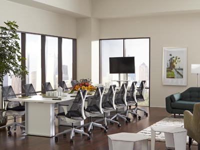Quorum 15' Conference Table- White